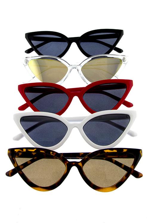 Women's Catty Cat Eye Sunglasses (Various Colors)