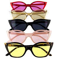 Women's Butterfly Cat Eye Retro Sunglasses (Various Colors)