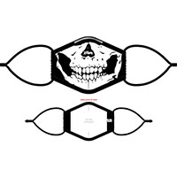 Rob Zombie- Skull Facemask (Sale price!)
