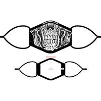 Megadeth- Skull (White) Facemask (Sale price!)