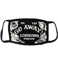 Go Away Ouija Facemask by Kreepsville 666