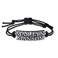 Marilyn Manson Logo Bracelet -by Alchemy England 1977