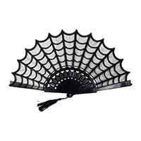 Spiderweb Lace Hand Fan by Kreepsville 666