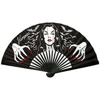 Vampira Hands Fabric Fan by Kreepsville 666