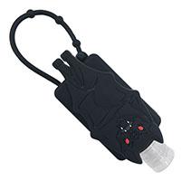 Black Bat Hand Sanitizer Holder by Kreepsville 666