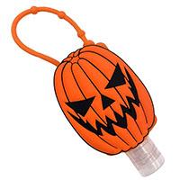 Trick or Treat Pumpkin Hand Sanitizer Holder by Kreepsville 666