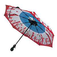 Skull Handle Eyeball Umbrella by Kreepsville 666