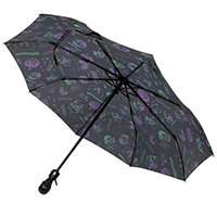 Skull Handle Spookshow Vince Ray Umbrella by Kreepsville 666