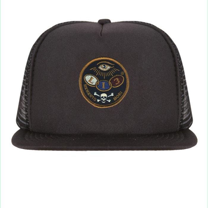 The Dead Eye Flat Bill Trucker Hat by Lucky 13