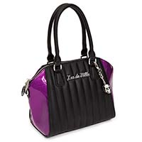Lady Vamp Tote by Lux De Ville - Electric Purple Sparkle