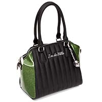 Lady Vamp Tote by Lux De Ville - Martini Green Sparkle