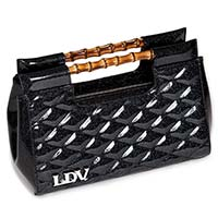 Mai Tai Clutch by Lux De Ville - Midnight Sparkle Black