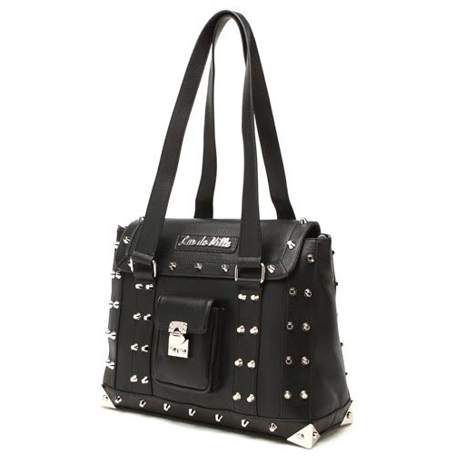 Mini Weekender Bag by Lux De Ville - Black Matte