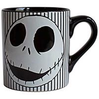 Nightmare Before Christmas- Skull Stripes 14oz Ceramic Mug