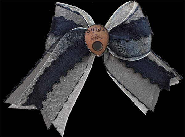Ouija Hair Bow by Se7en Deadly - SALE