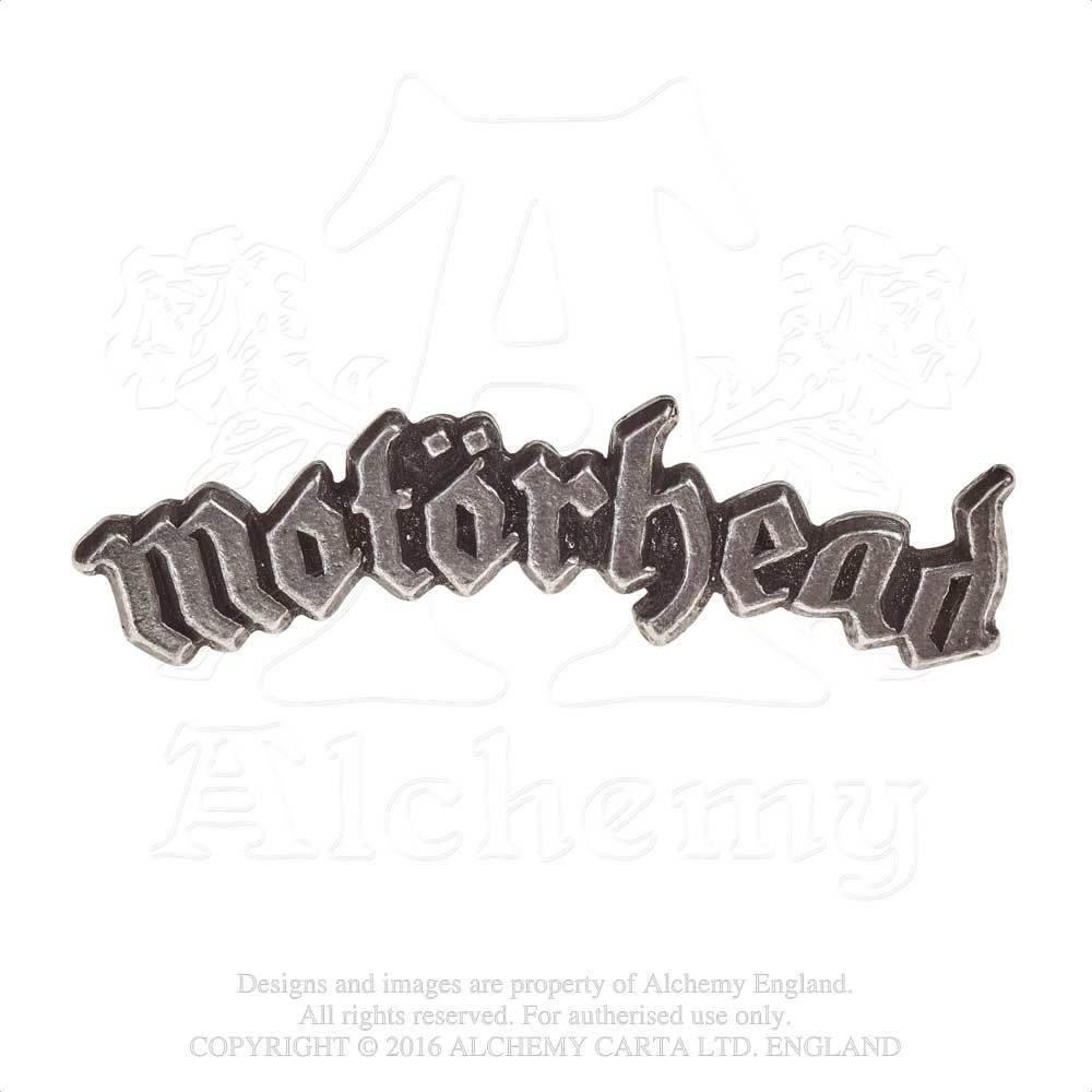 Motorhead Pewter Lapel Pin -by Alchemy England 1977