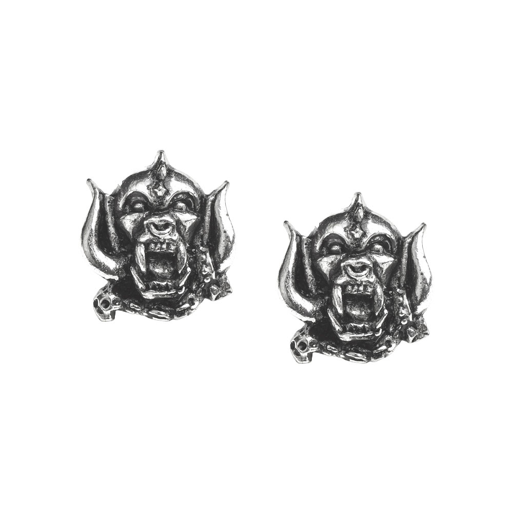 Motorhead Warpig Stud Earrings -by Alchemy England 1977