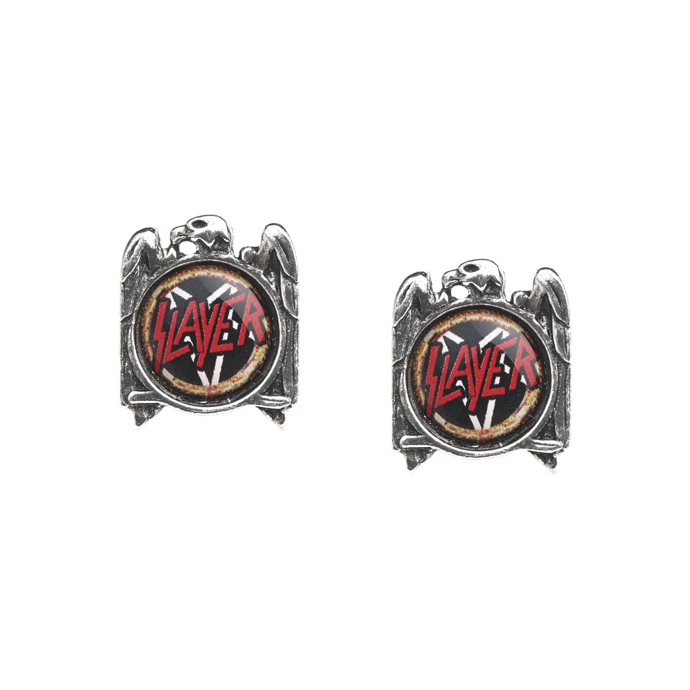Slayer Eagle Stud Earrings -by Alchemy England 1977