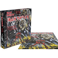 Iron Maiden- The Number Of The Beast 500 Piece Puzzle (Import)