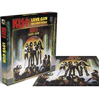 Kiss- Love Gun 500 Piece Puzzle (UK Import)