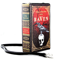 The Raven Vintage Book Clutch Bag by Comeco