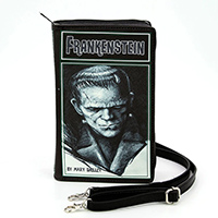 Frankenstein Book Clutch Bag by Comeco