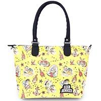 Aloha Sailor PVC Diaper Bag by Six Bunnies - yellow