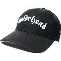 Motorhead- Logo on a black baseball hat