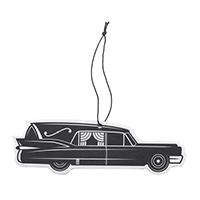 Death Cab Hearse Air Freshener by Sourpuss