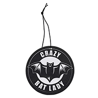 Crazy Bat Lady Air Freshener by Sourpuss