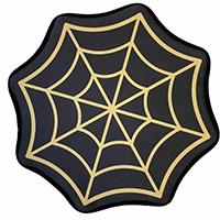 Spiderweb Bath Mat by Sourpuss