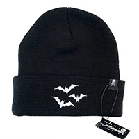Luna Bats Knit Hat by Sourpuss Clothing