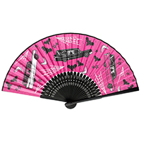 Death Cab Paper Fan by Sourpuss