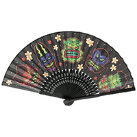 Tiki Monster Paper Fan by Sourpuss