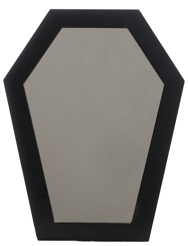 Coffin Wall Mirror by Sourpuss