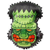 Frankenstein Tiki Pillow by Sourpuss