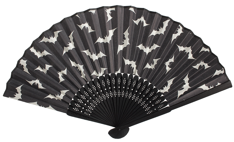 Luna Bats Paper Fan by Sourpuss