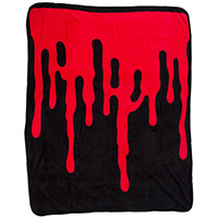 Bloody Fleece Throw Blanket from Sourpuss