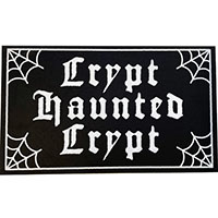 Haunted Crypt Doormat Rug by Sourpuss