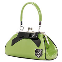 Floozy Jinx Kisslock Purse by Sourpuss - Green