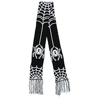 Spider & Web Scarf by Sourpuss Clothing