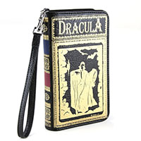 Dracula Book Clutch Wallet by Comeco
