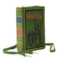 Wizard of Oz Book Clutch Bag by Comeco