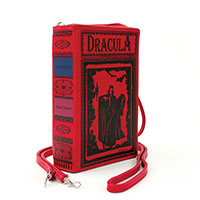 Dracula Book Clutch Bag by Comeco
