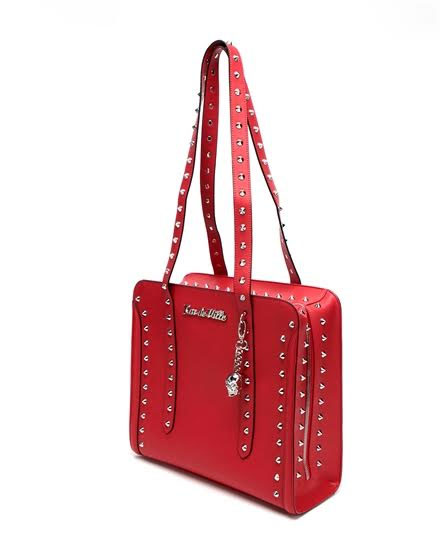 Large Troublemaker Tote by Lux De Ville - Red Matte - SALE