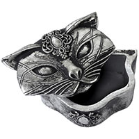 Sacred Cat Trinket/ Knick Knack Box by Alchemy England