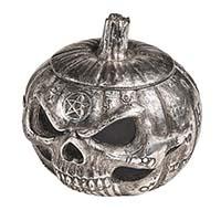 Pumpkin Skull Pot Trinket/ Knick Knack Dish by Alchemy England