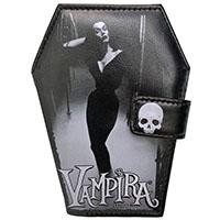 Vampira Vinyl Coffin Wallet from Kreepsville 666