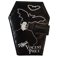 Vincent Price Coffin Vinyl Wallet from Kreepsville 666