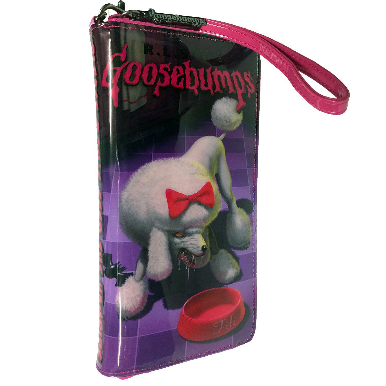 Goosebumps Poodle Vampire Vinyl Wristlet / Wallet by Kreepsville 666